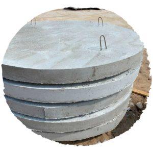 Днища колодезные (плита низа)